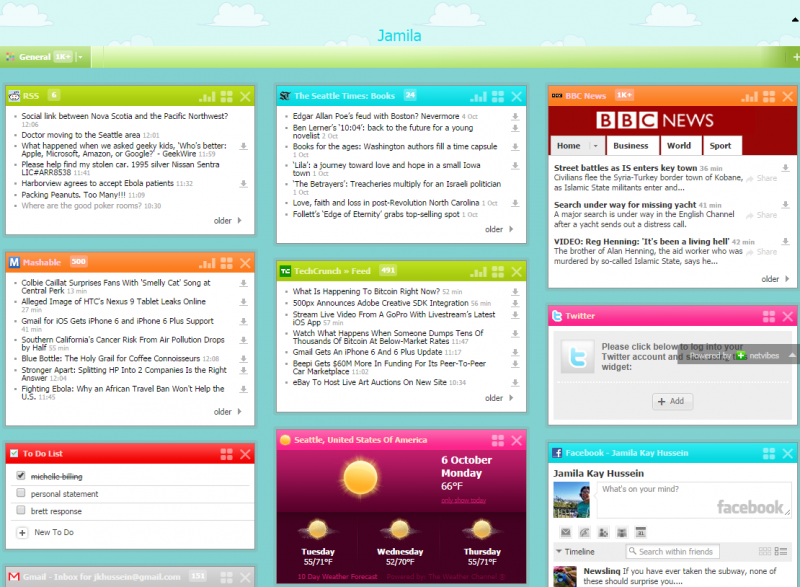 RSS Readers & Customized Dashboards - LSNTAP