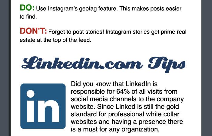 Best Practices for Social Media - LSNTAP