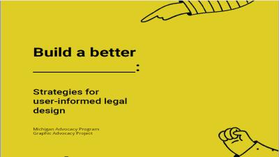 MAP x GAP Strategies for User-Informed Legal Design