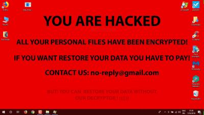 ransomware screen shot