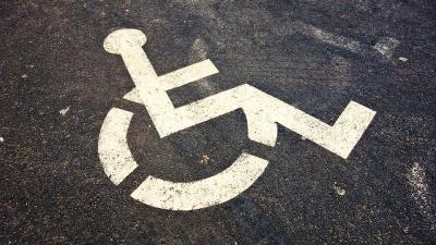 Accessibility wheelchair symbol